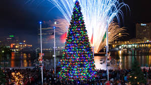 vintage tree lightings at jacksonville landing jacksonville