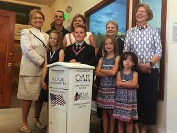 How To Dispose Of An American Flag When Torn Flag Retirement Bin Placed At Carson Valley Museum And Cultural
