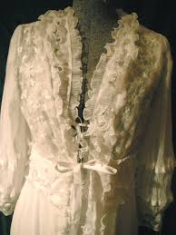 wedding peignoir sets pretty vintage bridal nightgown from etsy wedding