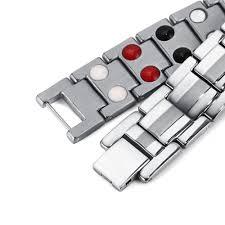 energy bracelet titanium images Healing magnetic titanium bio energy bracelet jpg
