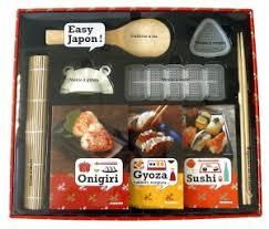 kit cuisine japonaise coffret onigiri gyoza sushi laure kié