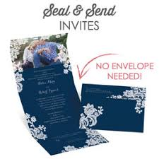 send and seal wedding invitations damask wedding invitations s bridal bargains