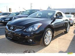 nissan altima black 2007 2012 nissan altima 3 5 sr coupe in super black 137247