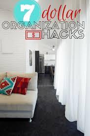 dollar tree hacks 7 organization hacks that cost a dollar