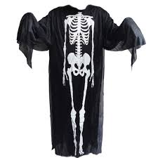 ghost clothing costumes skull skeleton ghost scary