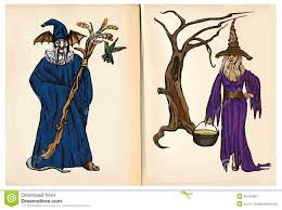 wizard and witch clipart clipartxtras