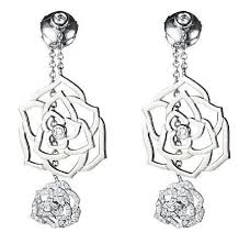 piaget earrings piaget 18k white gold diamond g38u0045 earrings tradesy