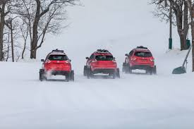 nissan pathfinder in snow nissan pathfinder murano and rogue get extreme snow transformations