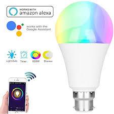 alexa controlled light bulbs smart bulb wifi alexa light bulbs rgbw colour change bulbs