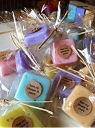 bridal shower soap favors wedding favors mini sle size soaps soap favors