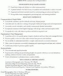 customer service skills resume resume template and professional