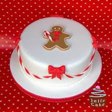 Christmas Cakes Decorated With Fondant