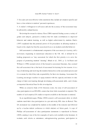 assessing the assessment an evaluation of a self assessment of class u2026