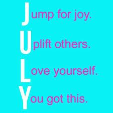 quotes for july month free design and templates