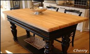 used butcher block table cheap butcher block island tops butcher