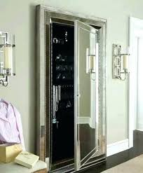 mirror and jewelry cabinet wall mirror jewellery cabinet wall jewelry storage door wall mounted
