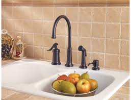 kitchen faucet 4 pfister gt26 4ypy ashfield 4 kitchen faucet with sidespray