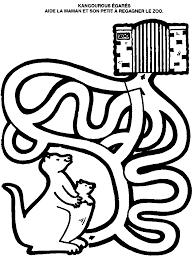 dessins à colorier labyrinthe coloriages pour enfants