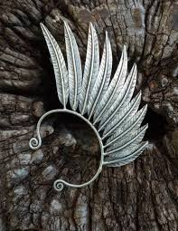 how to make feather ear cuffs left tribal feather wing ear cuff culture cross