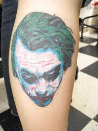 joker tattoos