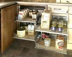 Kitchen Corner Cabinet Storage Solutions Corner Cabinet Storage Solutions Corner Kitchen Cabinet
