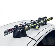 porta sci auto portasci magnetico 2 paia universale per auto menabo shuttle con