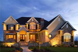 one story luxury homes one single story house home floor plans plan weber design group