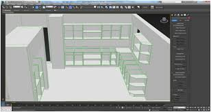 kitchen rendering with sketchup 3dsmax vray and photoshop