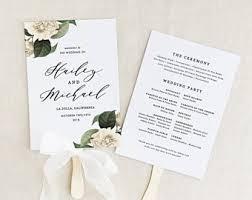 wedding fan wedding fan etsy