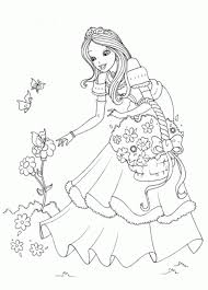 princess coloring pages printable free coloring