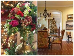Christmas Tree Decorating Ideas Southern by Classic Christmas Floral Arrangements Pinterest Southern