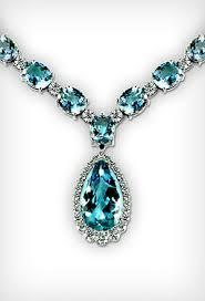 blue diamond necklace gem images Gemstone necklaces jewelry designs jpg