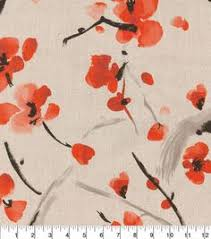 Cherry Blossom Upholstery Fabric Richloom Studio Upholstery Fabric 54
