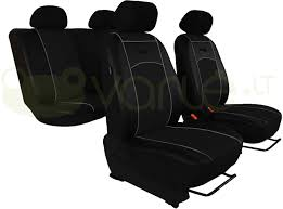 standard sėdynių užvalkalai eko oda toyota corolla verso 5