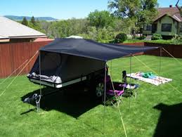 Awning For Tent Trailer The Tentrax Large Rain Fly Is Perfect For Tent Trailers
