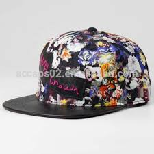 floral snapback custom floral snapback with your own logo view floral snapback