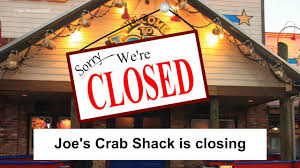 joes crab shack joe s crab shack abruptly closes more than 40 restaurants