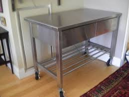 kitchen islands on casters work table kitchen stainless kitchen island with casters