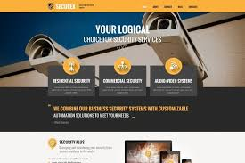 wordpress templates for websites top 6 wordpress themes custom built for security company websites