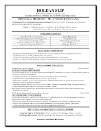 Resume Sample Maintenance Worker by Heavy Duty Mechanic Resume Sample Free Resume Example And