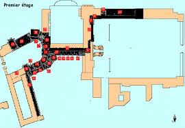 château de fontainebleau plans