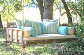 Daybed Porch Swing Porch Swing Daybed Cedar Swing Bed By On H O M E Swings And Porch