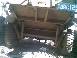 bantam jeep trailer trailers for carrying jeeps u0026 farm purposes what how in india