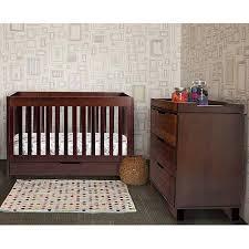 Non Convertible Crib Baby Mod Parklane 3 In 1 Convertible Crib Espresso Walmart