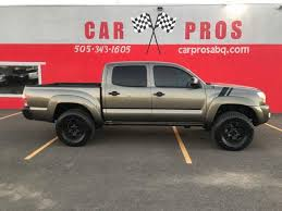 abq toyota 2009 toyota tacoma v6 lifted 4x4 for sale in albuquerque nm