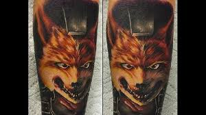 we re all doing barrel rolls for these fox tattoos tattoodo