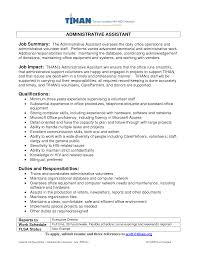 sample resume summary of qualifications examples of professional summary for a resume free resume professional summary resume examples resume sample format administrative assistant professional summary samples examples of a career