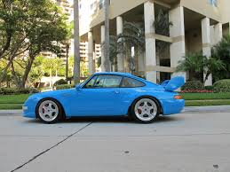 porsche 911 rs clubsport tribute rare cars for sale blograre