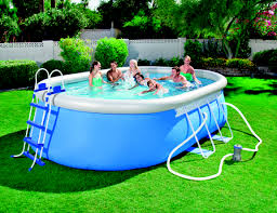 Backyard Inflatable Pool by Product Data Bestway Steel Pro 56447 Framed Inflatable Pool Oval