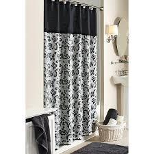 Shower Curtains Black Shower Curtains Damask Home Decoration Ideas